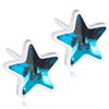 Plastic Star Aquamarine 6mm