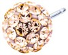 Crystal Ball Golden Rose 6mm